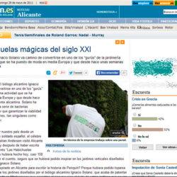 Habichuelas máginas del siglo XXI - Ignacio Solano en el Diario Información