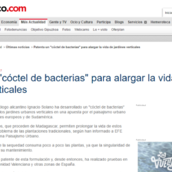 "Ignacio Solano patenta un ""cóctel de bacterias"" – Diario Vasco"