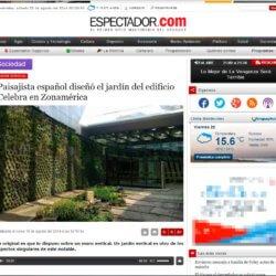 Ignacio Solano - jardín vertical uruguay
