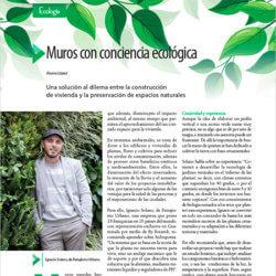 Muros con conciencia ecológica