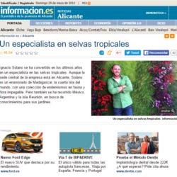 Ignacio Solano, un especialista en selvas tropicales – Diario Información
