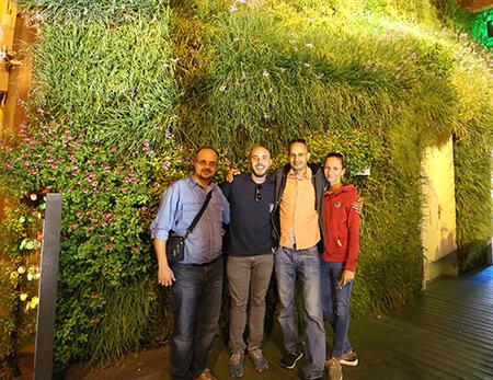Jardín vertical Arabia