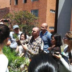 El experto en botánica Ignacio Solano trabaja para que las ciudades sean más verdes