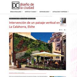 Intervención en La Calahorra, Elche